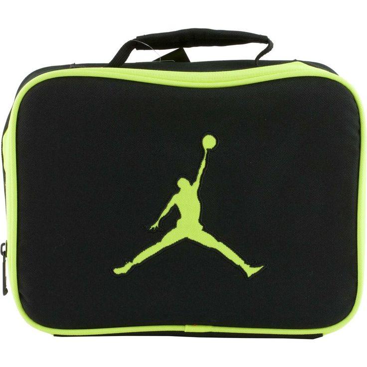 What Is Air Bag >> Nike Air JORDAN Jumpman Neon Volt Soft School Insulated LUNCH TOTE Bag Box #Nike #LunchBag ...