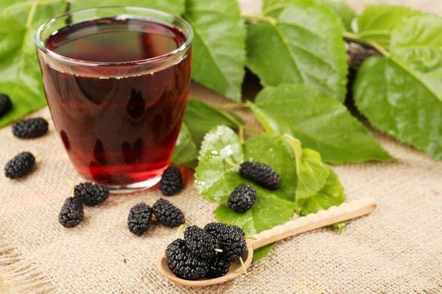 Karadut şurubu- Blackmulberry syrup