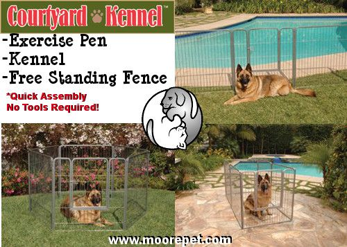 Courtyard Kennel By Precision Pet Pet Products Pets
