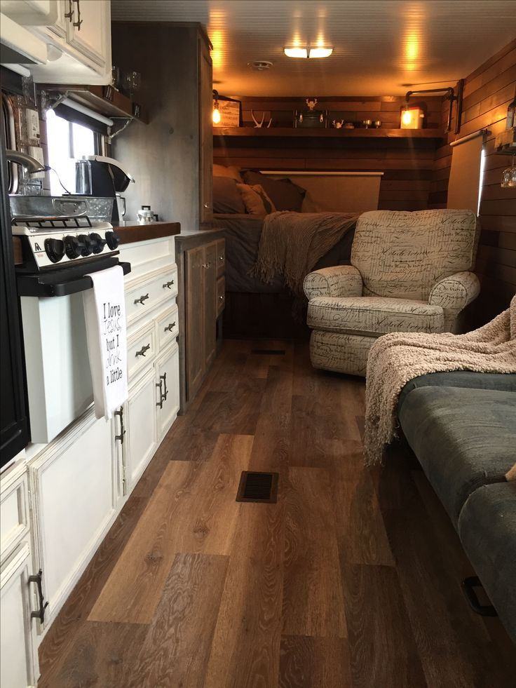 Vintage camper, gutted and remodeled