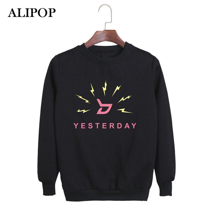 ALIPOP Kpop Korean Fashion Block.b Block B Album Yesterday ZICO P.O UKWON Cotton Hoodies Clothes Pullovers Sweatshirts PT365