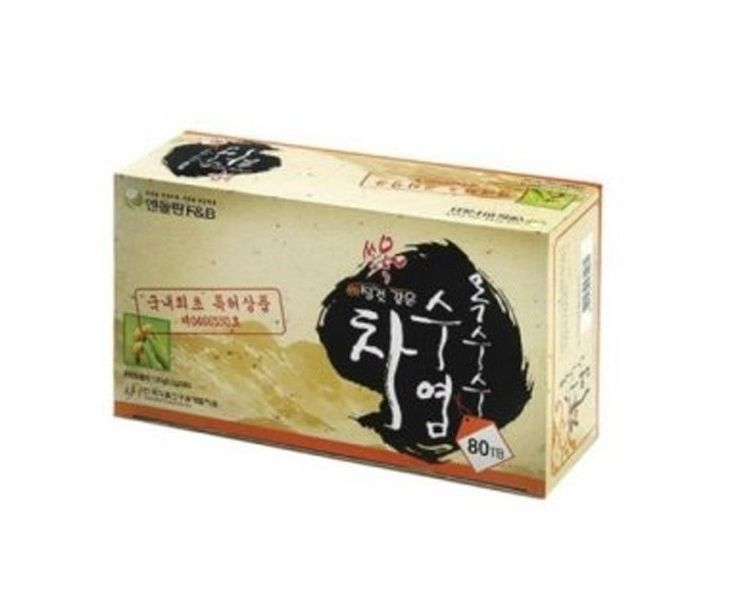 Amanda Seyfried favorite Corn silk tea 80T  Infused tea Korean Brand EDFf&b #Endorphinfb