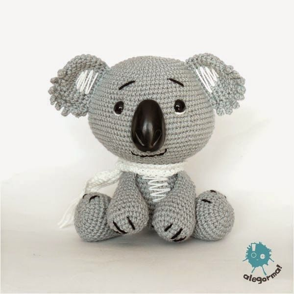 Aleksandra Goryniak-Maziarka alegorma! koala, szydełko www.polandhandmade.pl  #polandhandmade #zabawkarstwo #amigurumi