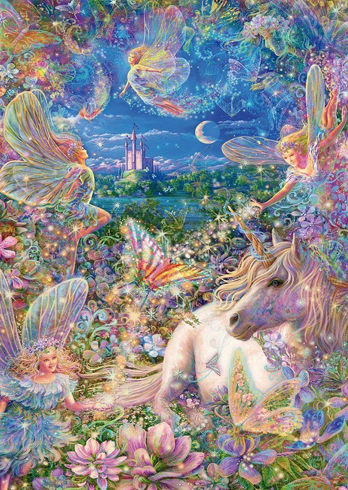 NEW! Schmidt Fairytale Dream 500 piece fantasy jigsaw puzzle