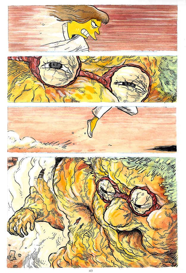 768 Artists Are Redrawing Akira Comics With Simpsons Characters