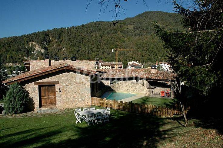 Casa de 4 habitaciones La Pahissa. Sant Pau de Segúries (Girona/Gerona). Publicado en Rentalia ref.223678. Contacto directo con el propietario.