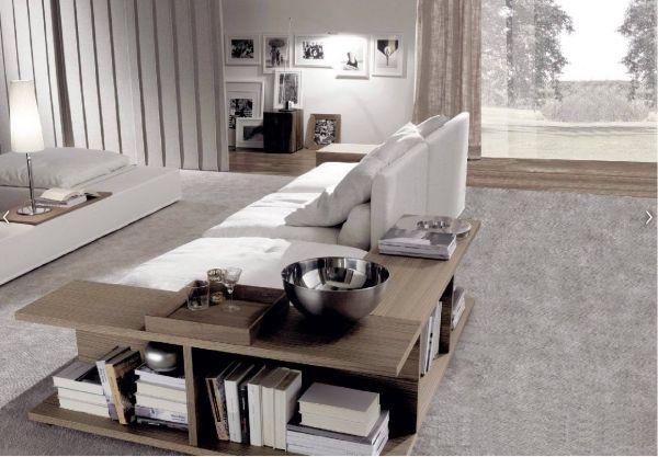 Sofa Designs Mit Integrierten Regalen - monref.net