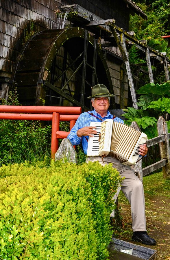 Accordion Player, Puerto Montt, Chile by Chris Taylor, via 500px