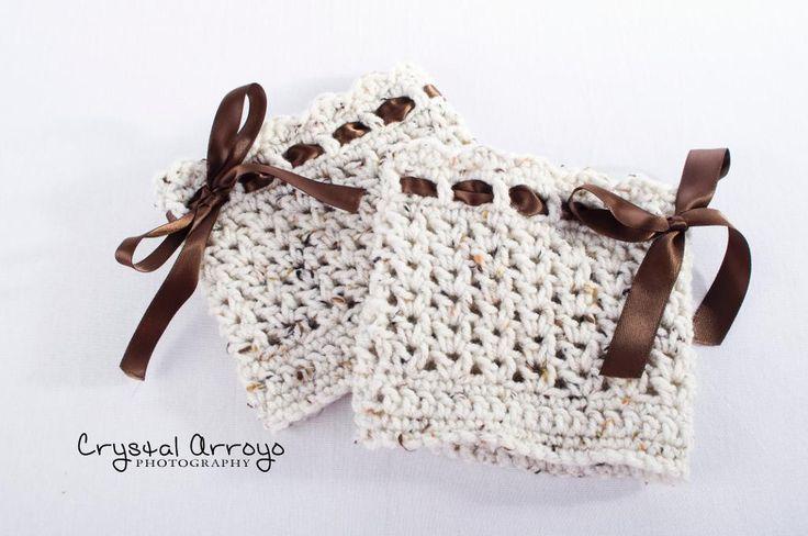 Free Crochet Boot Cuff Pattern   Mama's Boot Cuffs by Mamaslilsugar   Crocheting Pattern