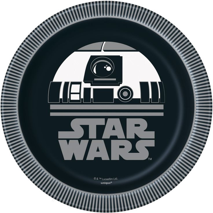 Star Wars Paper Dessert Plates, 7in, 24ct in