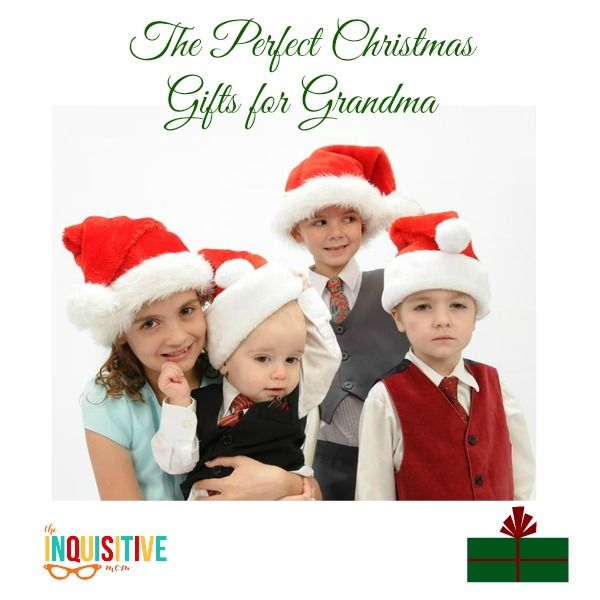 Grandma can never get enough photos of the kids, so this is where Portrait Innovations helped me find the perfect Christmas gifts for grandma this year.