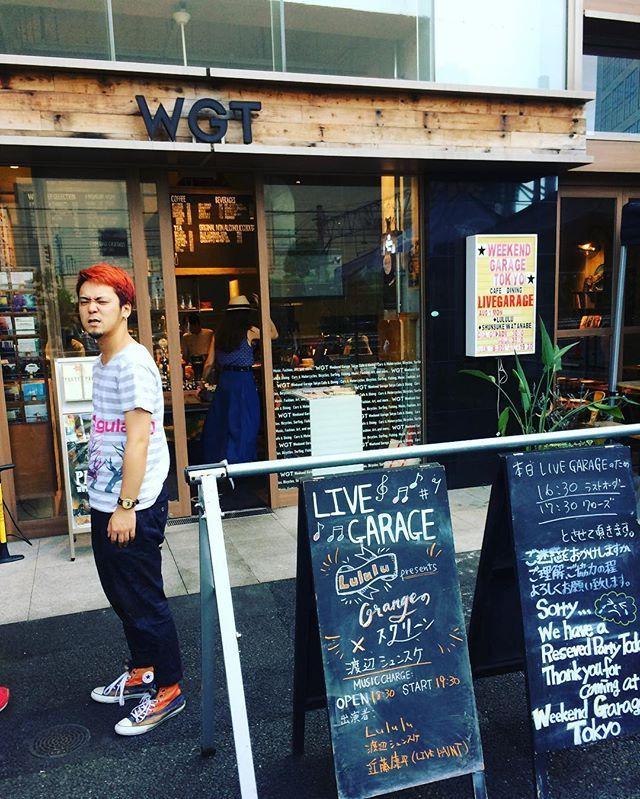 きょうはOrangeのスクリーンin渋谷WGTです!満員御礼♡