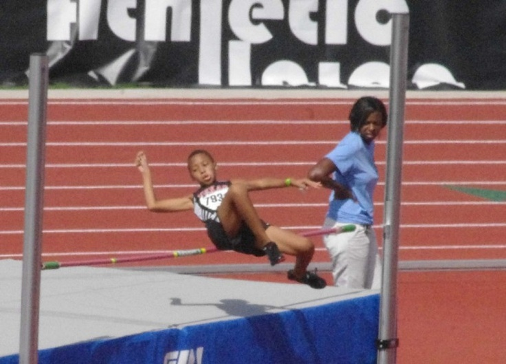 High Jump AAU Junior Olympics