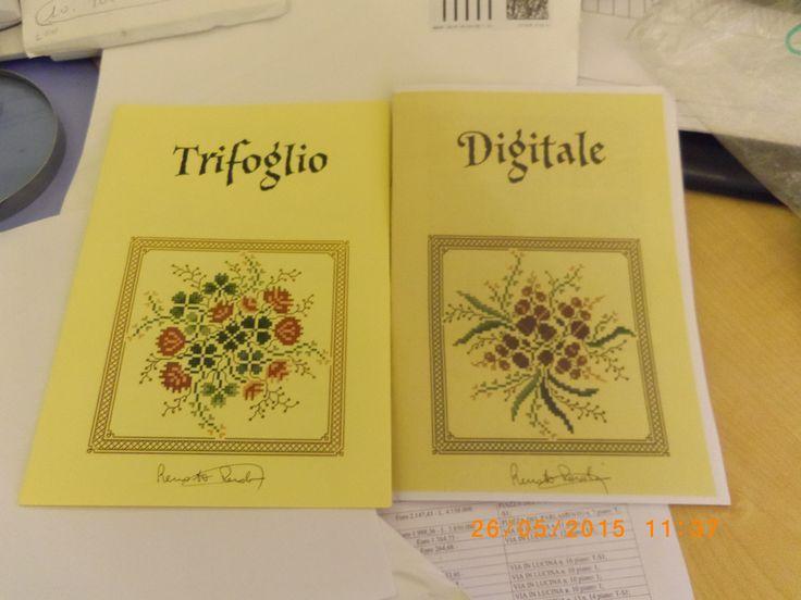 Nuovi schemi di Renato... regalo di Laura anche autografati <3.... prossimo lavoro