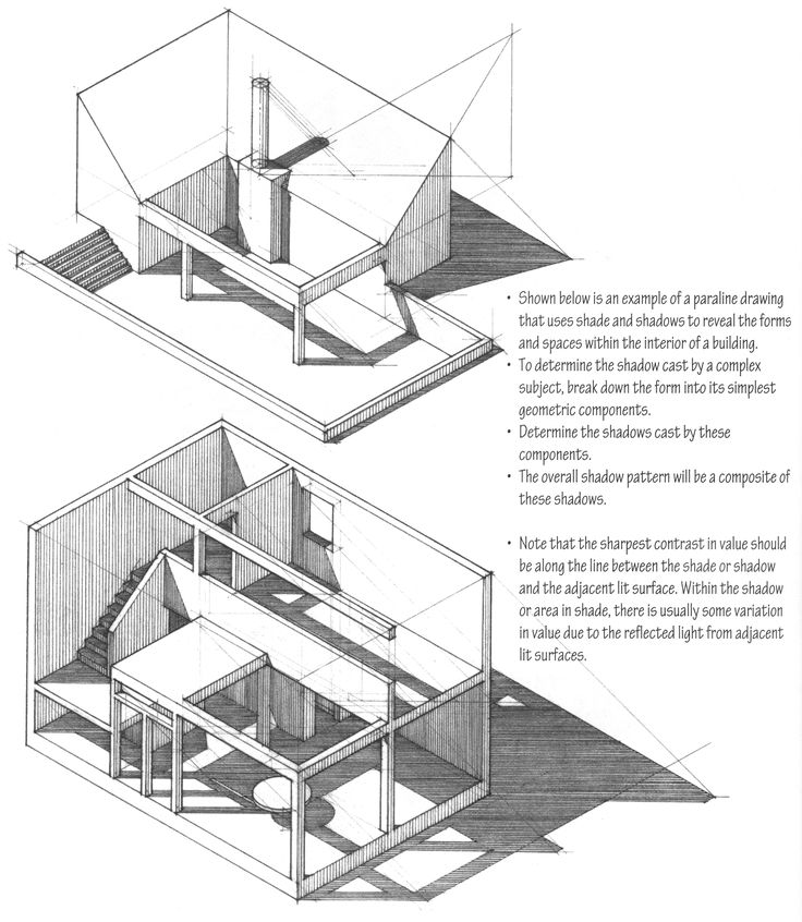 Best Drawing Techniques Images On Pinterest Architecture