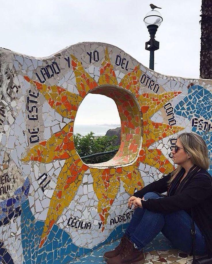 """Tu de este lado y yo del otro, como dos remos"" ☀️�� Cecília y Alberto. Parque del Amor #quotes #quotesandsayings #frasesypensamientos #parquedelamor #parquedoamor #lima #peru #miraflores #parques #topview #gaudi #inspiration #spots #welivetoexplore #exploreperu #experienceperu #viagemeturismo #wanderlusting #globetrotting #beautifuldestinations #travel #travelblog #blogdeviagem #travelphotography #travestagram #instatravel #worldtravelpics #worldtraveler #love #voltosegunda…"