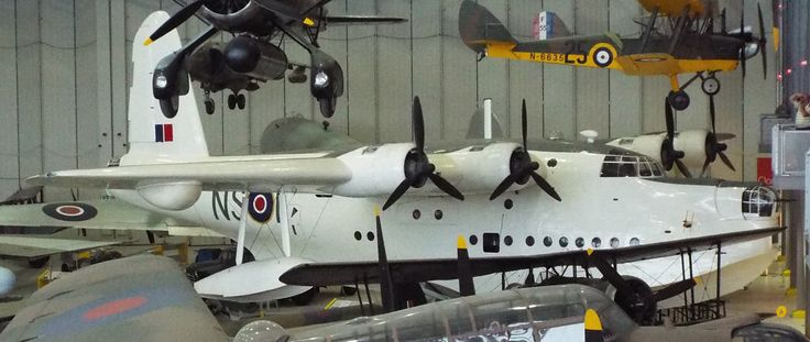Short's Sunderland Flying Boat 1942 Imperial War Museum Duxford