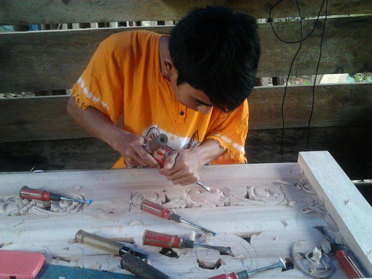 when make it  #Kriya #Wood Carving #Woodcarving