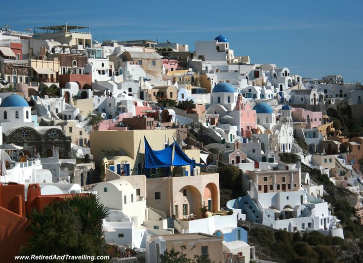 The beauty of Oia in Santorini is iconic!