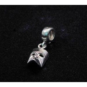 Casanova mask monument charm silver  Buy Online  https://www.eredijovon.com/en/2305-mask-casanova-cham-silver-fits-pandora.html  #italianpandoracompatiblecharms #luckycharms #handmadecharms #venicecharms #rialtobridgecharm #gondolacharm
