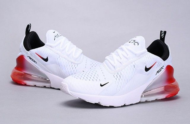 Nike Air Max 270 Flyknit White Red