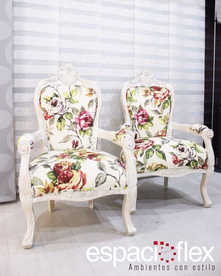 La #restauración de las sillas isabelinas nos permite retomar el lujo y elegancia de la época que ellas evocan, dándole a su vez un aire romántico y moderno.  El estilo vintage nos permite recordar el valor de los usado!