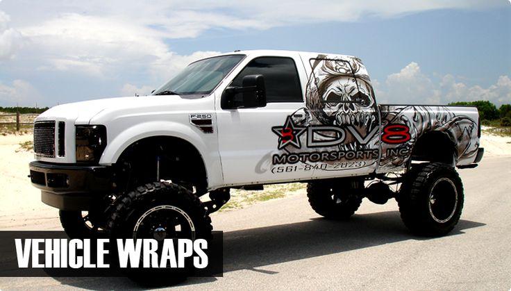 graphic design vehicle wraps
