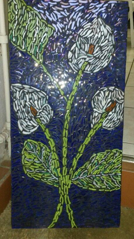 Arum lily mosaic