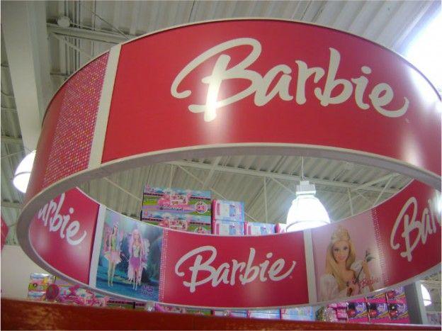 Display Design - Mattel Barbie - In-store Signage | Middleton Group Inc.