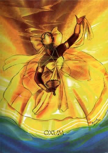 Orixa OXUM - Candomble - Umbanda - Afro-brasilian religion