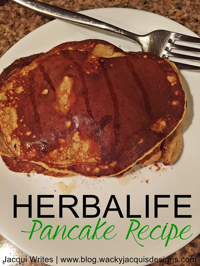 Herbalife Pancake Recipe 343 calories and 37G of protein