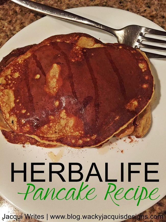 Herbalife Pancake Recipe 343 calories and 37G of protein