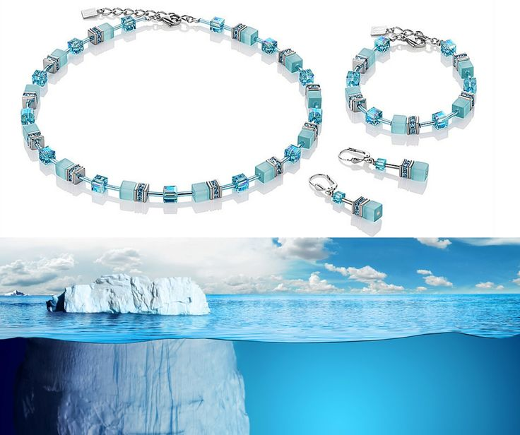 Winter doesn't have to be dark and dreary. Embrace the ice blues and crisp whites of the season with our Cool Turquoise Geo Cube set.
