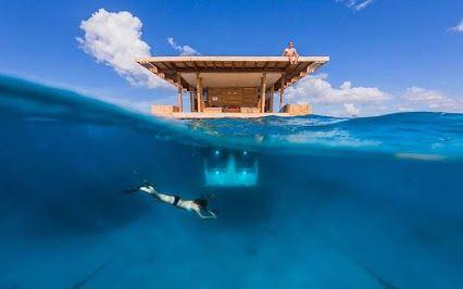 Une maison sous l'eau ! Crédit Market - Google+