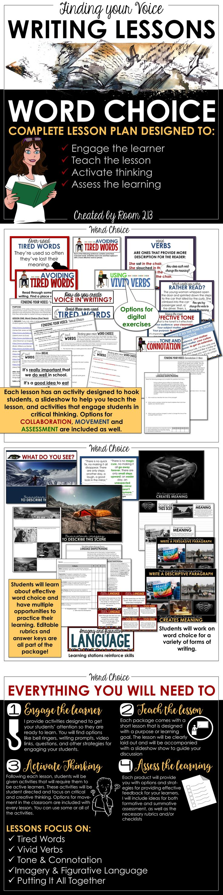creative writing lesson plans for high school students Prepare yourself for the avalanche of lesson planning with these targeted tips even if you had plenty of practice writing lessons during your teacher training, it's hard to be prepared the answers will help you create high-quality, on-target plans at the beginning of the year, you'll probably refer to.