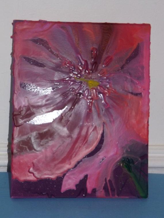 Flower Crayon Melt