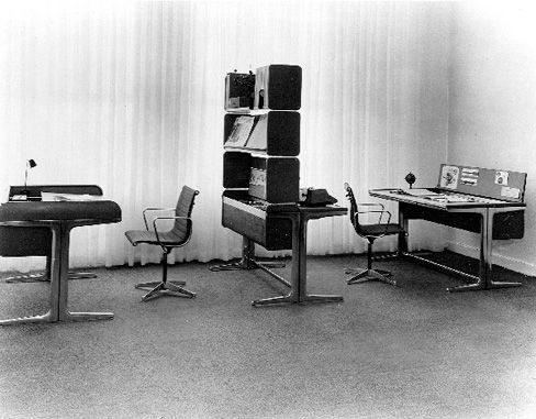 from herman miller in 1964 robert probst and george nelson created the legendary action office 1 - George Nelson Herman Miller Schreibtisch