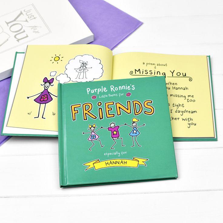 purple ronnie's little poems for friends  friend poems