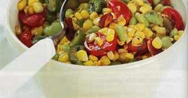 Succotash: Vegetables Sides, Okra Corn Tomatoes, Adapted Recipes, Cherry Tomatoes, Bean Recipes, Bacon, Baby Lima, Succotash Recipe, Lima Beans Recipe