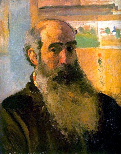 Камиль Писсарро. «Автопортрет». 1873 г.