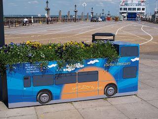 Plants Growing on Buses