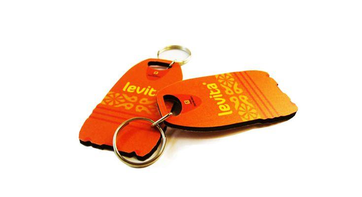 Porta-chaves em Eva ou Cortiça
