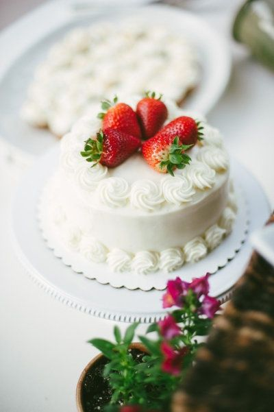Wedding cake alla fragola
