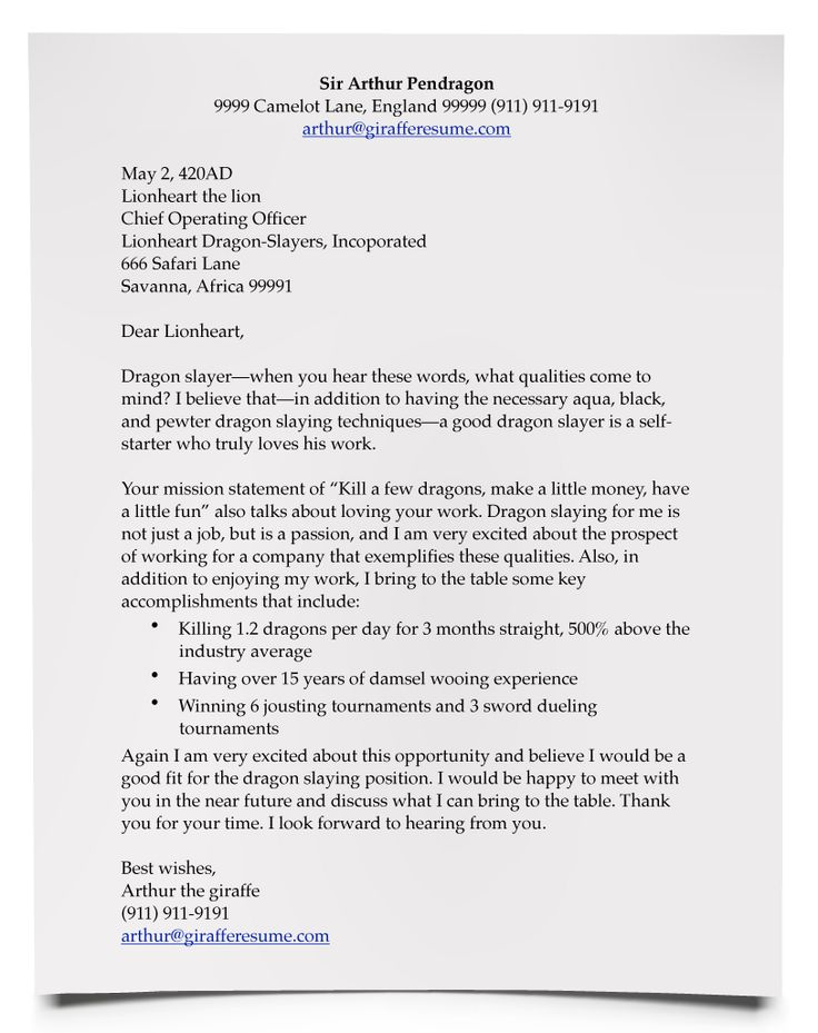 10 Best Cover Letter Examples Images On Pinterest | Cover Letter
