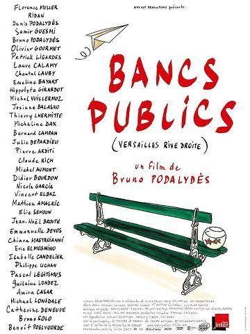 """""""Bancs publics"""" de Bruno Podalydès, programmé le 25/07 à 21h30  http://www.forumdesimages.fr/les-films/les-programmes/cinema-au-clair-de-lune-2015/bancs-publics"""