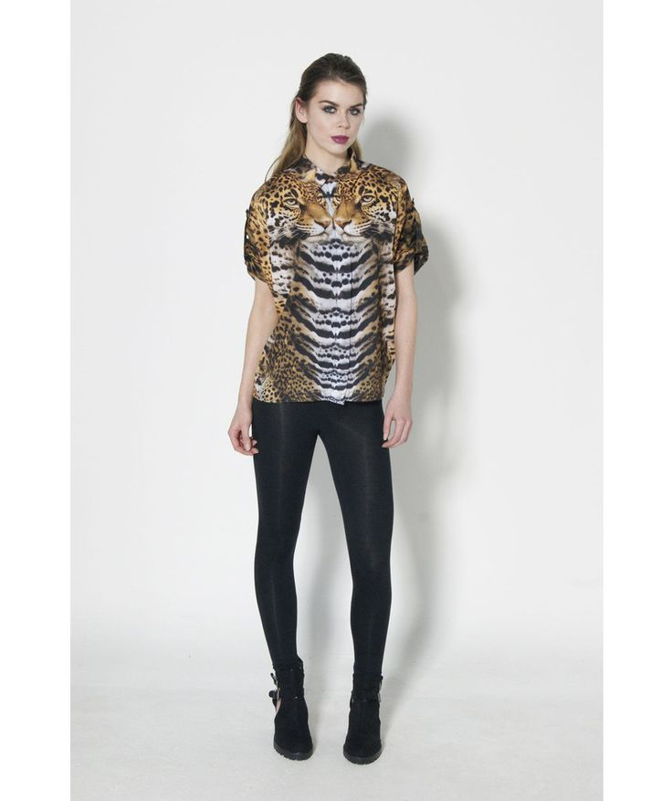 Dead Lovers Wild Thing Tiger Print Shirt
