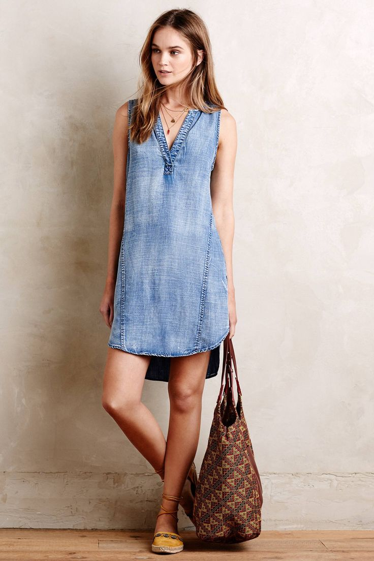 Seawashed Tunic Dress - anthropologie.com
