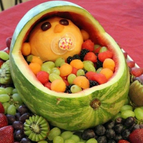 Here's a fun idea for that next #baby #shower! http://womanfreebies.com/featured/readyseteat/?fruitbabybasket