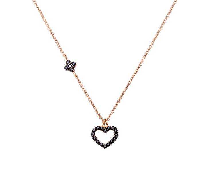 lovely gold necklace in 14K