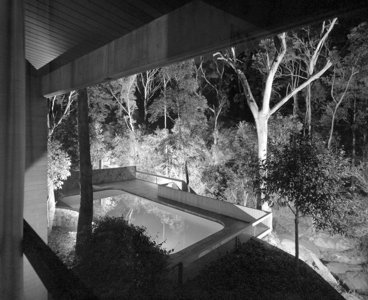 Since being finished in 1967 the house has remained completely unchanged, save for the addition of a swimming pool, which sits seamlessly within the site.